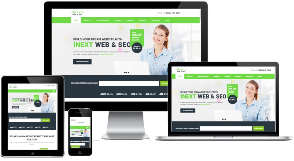 web and seo responsive