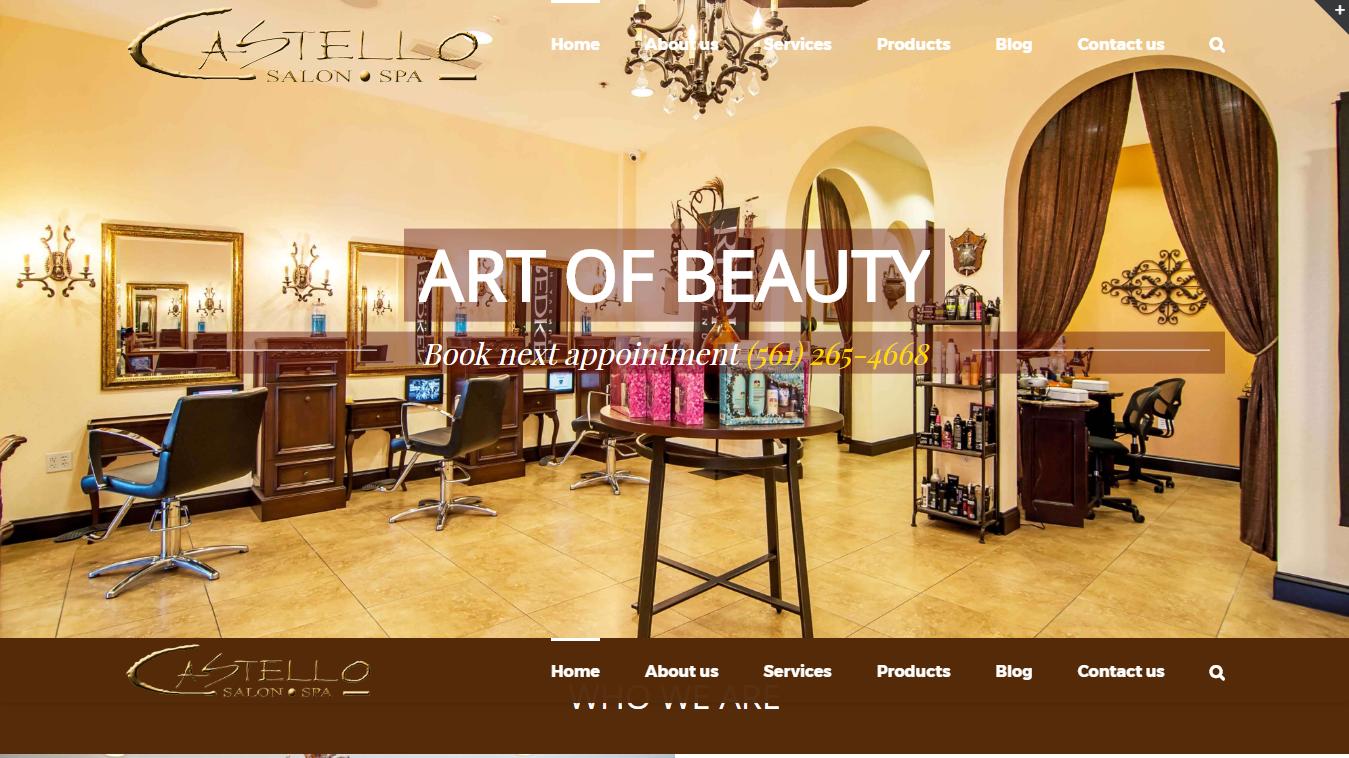 Castello Salon and Spa – Delray Beach Hair Salon Art of Beauty