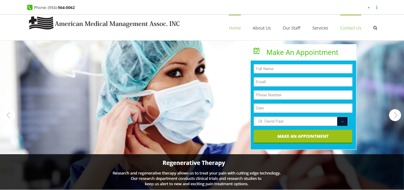 Pompano Beach Pain Clinic American Medical Management