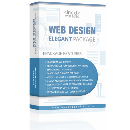 Elegant Package Web Design | iNext Web and SEO